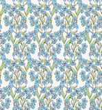 Forget-me-not pattern 6 Stock Images
