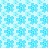 Forget-me-not seamless pattern Royalty Free Stock Images