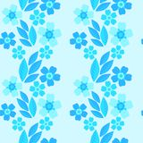Forget-me-not seamless pattern Royalty Free Stock Image