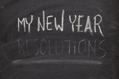 Forgetting new year resolutions - concept Royalty Free Stock Photos