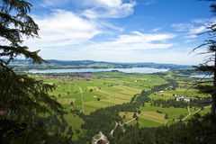 The Forggensee Royalty Free Stock Photos