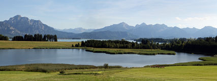 The Forggensee in Bavaria Stock Image