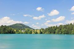 Forggensee lake - Bavaria Stock Image