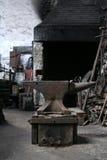 Forgia del fabbro Immagini Stock