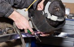 Forging iron Stock Photography