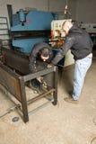 Forging iron Royalty Free Stock Photos