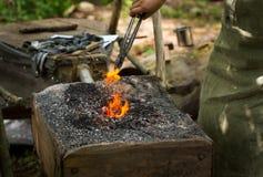 Forging iron craft Stock Photography