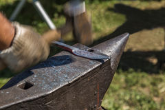 Forging iron Stock Images