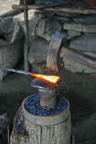 Blacksmiths forging tools Stock Photos