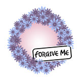 Forgive me Royalty Free Stock Images
