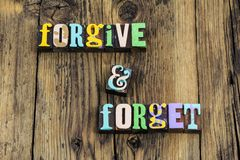 Free Forgive Yourself First Forget Forgiveness Accept Apology Learn Move Forward Royalty Free Stock Photos - 161028318