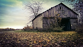 Forgotten Barn. An old run down barn in Ohio royalty free stock images