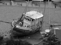 Forgotten boat Stock Photos