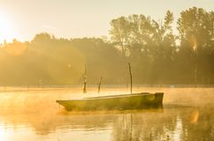 Forgotten boat Royalty Free Stock Images