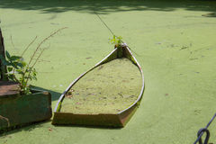 Forgotten Boat Stock Image