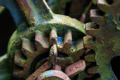 Forgotten, broken mechanism at the dump Stock Image