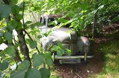 Forgotten car stock photos