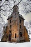 Forgotten castle stock photos