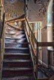 Forgotten century-old mansion. Gdansk - Poland. Stock Images