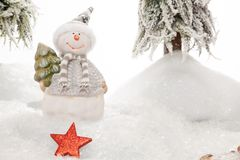 Forgotten Christmas Star Royalty Free Stock Image
