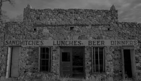 Forgotten Diner in Organ, NM Royalty Free Stock Images