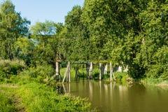 Forgotten drawbridge Royalty Free Stock Photo