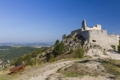 Forgotten fortress in the mountains Royalty Free Stock Photos