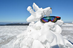 Forgotten goggles Stock Images
