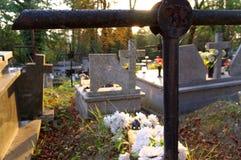 Forgotten grave Stock Photos
