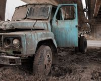 Old Truck (now also available in front view) Stock Images