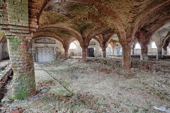 Free Forgotten Stable With A Beautiful Brick Vault Stock Photos - 38733393