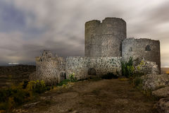The forgotten tower. A forgotten fortress that sees implacable the passage of the years Royalty Free Stock Photos