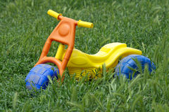 Forgotten toy. royalty free stock image