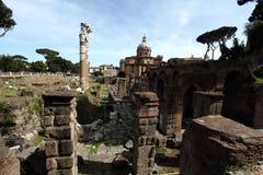 Fori Imperiali в Риме Стоковое Изображение RF