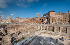 Fori Imperiali Stock Photography