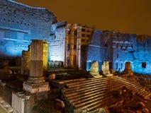 Fori Imperiali en Roma Fotos de archivo libres de regalías
