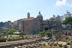 Fori Imperiali Royalty Free Stock Images