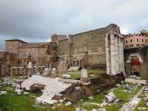 Fori Imperiali Roma imagem de stock