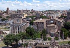 fori imperiali Rome obraz royalty free