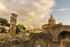 Fori Imperiali Rome Royalty-vrije Stock Afbeelding