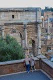 Fori Imperiali, Rome, Italien Arkivfoto