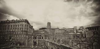 Fori Imperiali, Rome. Fori Imperiali in Rome, Italy Stock Photography