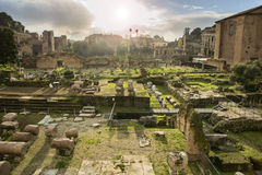 Fori Imperiali in Rome, Italy Stock Photography