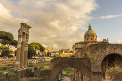 Fori Imperiali Rome Royalty Free Stock Image