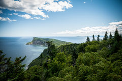 Forillon National Park scenic view Stock Image