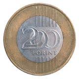 Forint 200 νόμισμα Στοκ Εικόνες