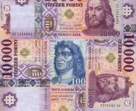 Венгерский forint Стоковые Фото