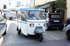 Forio taxi Royalty Free Stock Photos