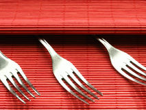 Fork. Cutlery Stock Images