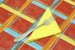 Fork. Kitchen, fork, silverware, silver; steel; metal Royalty Free Stock Photo
